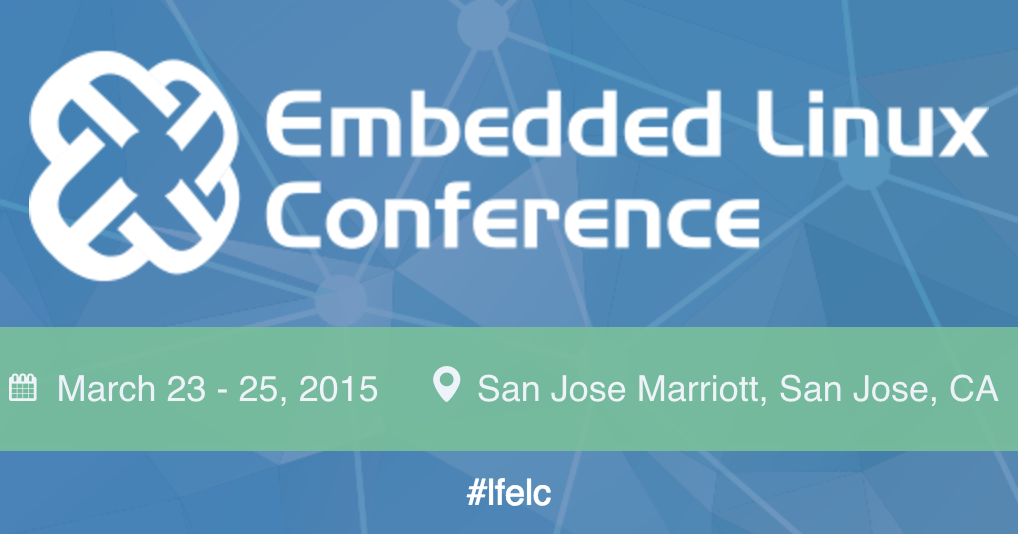 Event cover image for Embedded Linux Conference(ELC)- Linux Foundation 會後分享